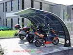 tettoia-pensilina-biciclette-vendita-Roma