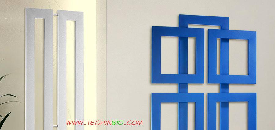 Calorifero innovativo tubi radianti quadri sovrapposti for Calorifero d arredo