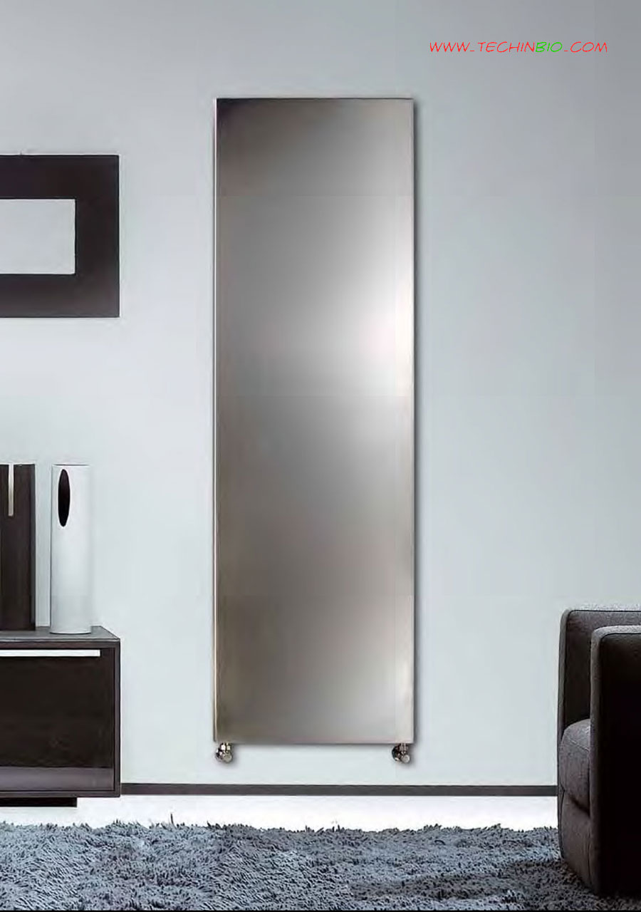 Calorifero piano inox radiatore design inox radiatore d for Calorifero d arredo