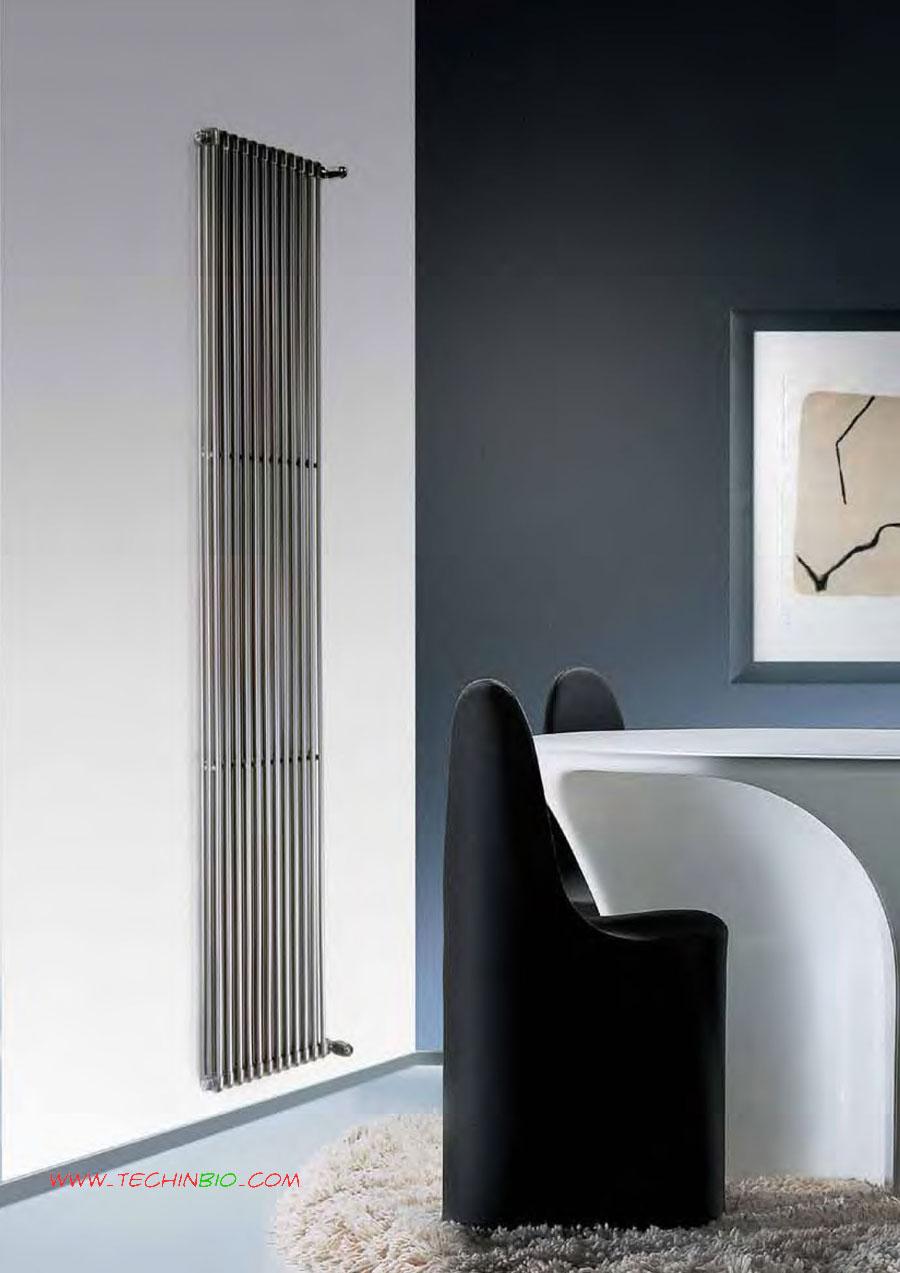Elemento radiante radiatore wind calorifero tubi tondi for Calorifero d arredo