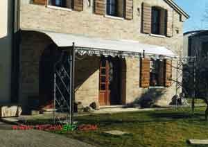 Arredo giardino e arredamento per esterni in ferro verande - Porticati esterni ferro ...