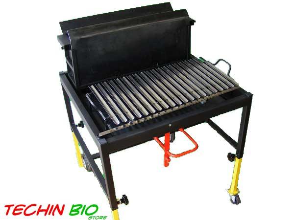 Barbecue tutte le offerte cascare a fagiolo for Veranda con caminetto a gas schermato