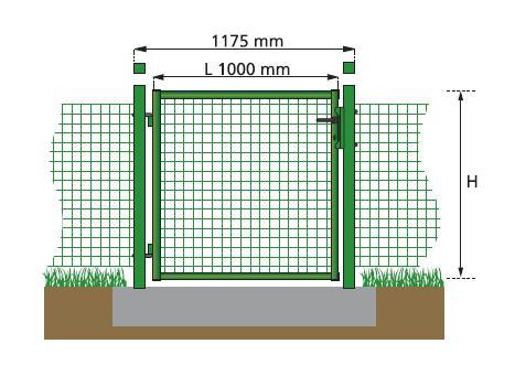 Arredo giardino in ferro verande gazebo cancelli ferro for Cancelletto per cani da esterno
