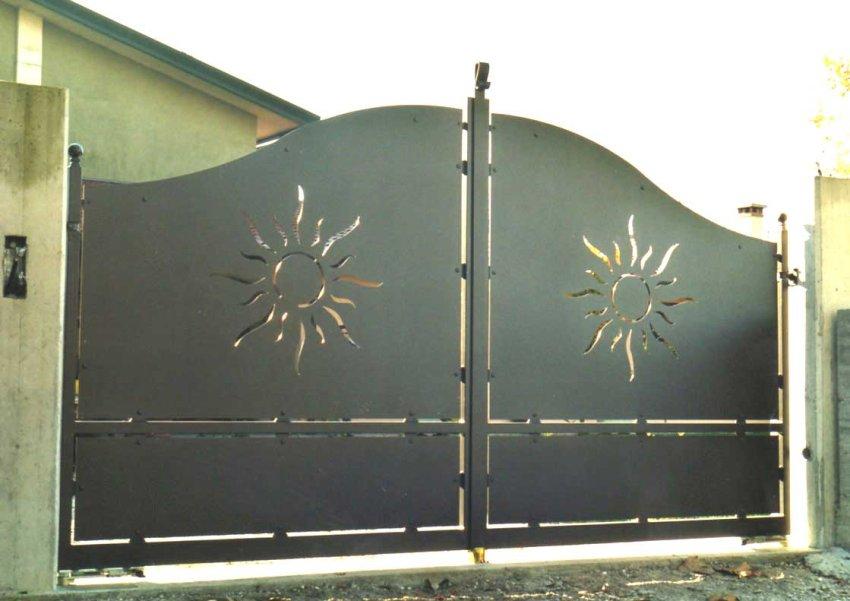 Cancello In Ferro Cancelli In Ferro Battuto Recinzioni In Ferro