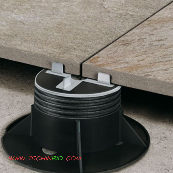 Piedini regolabili per pavimenti galleggianti 2 pannelli - Pavimenti galleggianti per esterni ...