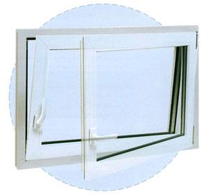 Finestre da cantina finestre a cassero finestre in pvc - Finestre pvc su misura prezzi ...