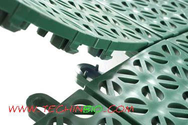 Pavimenti drenanti moquettes fiere rivestimenti corsie ignifughe - Piastrelle di plastica ...
