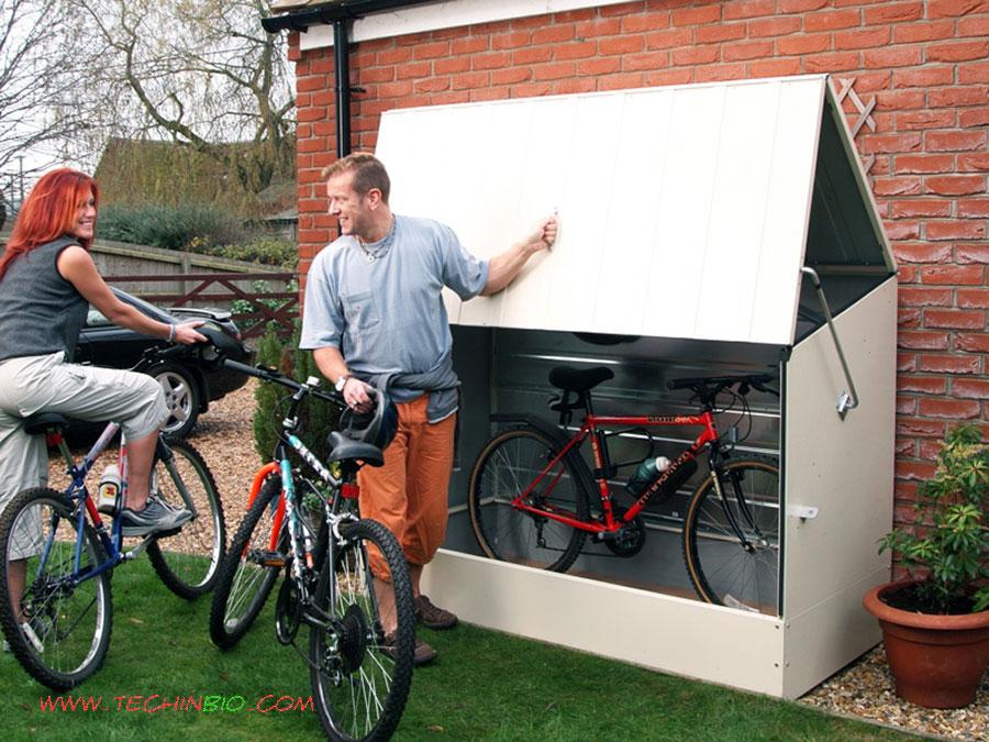 Box biciclette rimessa bici bicibox minibox box esterno multiuso rimesse giardino - Box bici da giardino ...