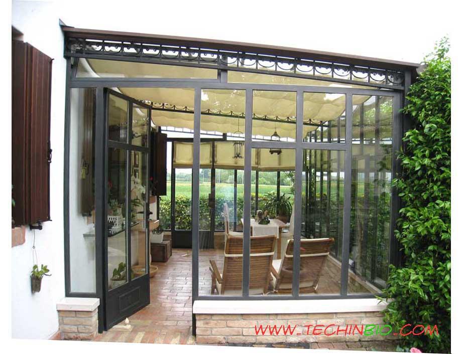 Verande in ferro verande in stile verande in ferro - Giardini d inverno immagini ...